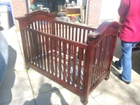 baby's brown wooden crib Silver Spring, 20902