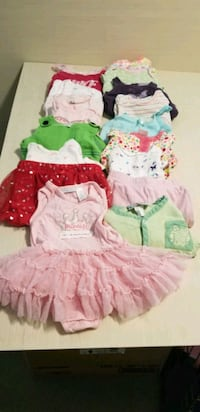 Girl clothes - 0-6 months - selling all together