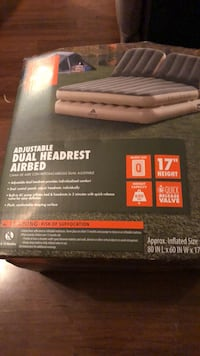 ozark trail dual headrest airbed inflatable  mattress bed camping Pittsburg, 94565