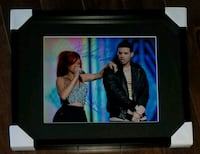 Drake & Rihanna Dual Signed Photo Framed w/COA  Caledon, L7E 2X9