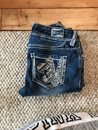 Size 26 vanity jeans Great Falls, 59404