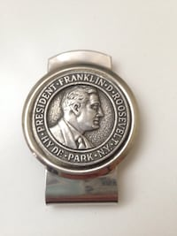 President Roosevelt money clip collectible