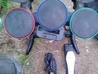 black, green, red, and blue rockband drum set Atwater, 95301