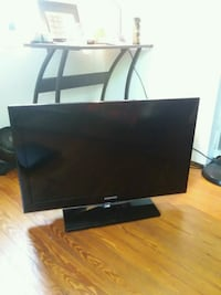 black Samsung flat screen TV Rockville, 20851