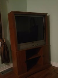 """Sanyo 36"""" tv and stand Utopia, L0M 1T2"""