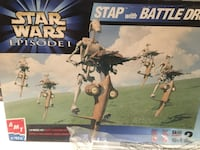 Star Wars STAP with BATTLE DROID  Calgary, T2E 3W8