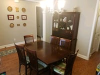 Matching Table and Hutch ( as pair) Summerville