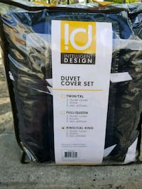 King duvet cover bed in a bag *new) London, N6H 3B2