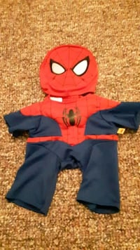 Build A Bear Spiderman outfit accessory