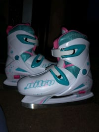 Girls nitro ice skates 173 mi