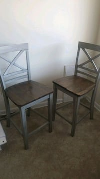 Chic country style bar stools