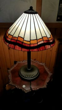 Large tiffany lamp