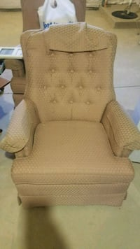 TWO Swivel/Rocking Chairs