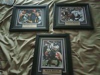 Ravens memorabilia top two signed with certificate Woodbine, 21797