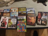 assorted DVD movie case lot Circle Pines, 55014