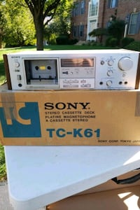 Sony home cassette player TC K61 Manassas, 20112