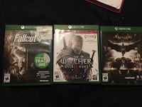 Fallout 4 and Arkham knight for Xbox one  St. Clements, R0E 0M0