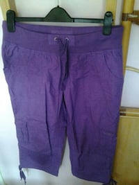 Women's Purple Calvin Klein Trousers Guildford, GU5 9DW