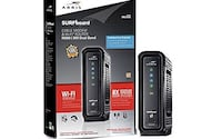 ARRIS cable modem/WiFi dual band router Washington, 20001