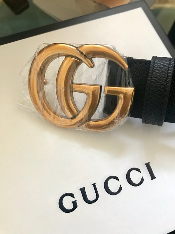 d7840aaf6c3 Used brown leather belt with silver Gucci buckle for sale in Somers - letgo