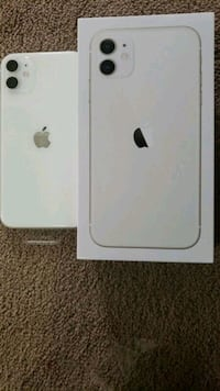 2 iphone 11 white   $400 for 1 $600 for 2