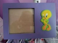 Tweety photo frame.  Port Colborne, L3K