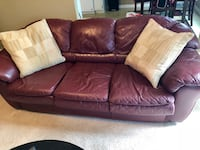 Couches - maroon leather  Lovejoy, 30228