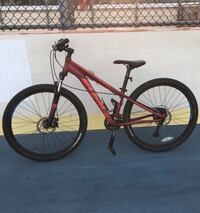red and black hardtail mountain bike Washington, 20024