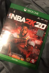 NBA 2K20 XBOX ONE (perfect condition)