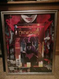 Batwoman #1 holographic comic book picture
