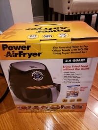 Power AirFryer 3.2 L - As Seen on TV Toronto, M3M 2L8