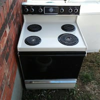 Electric stove works good must go moving sale