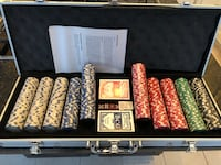 Poker chips 500 piece set w/ case (brand new) Leesburg, 20175