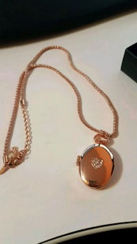 new in box! Rose Goldtone locket.  Richmond Hill, L4E