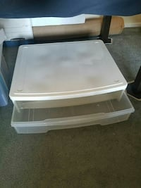 Container Store Wide Underbed Drawers Los Angeles, 91423