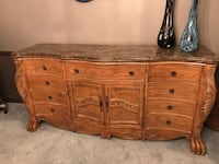 Large Buffet with marble top   590 mi