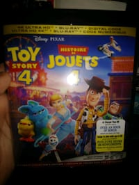 Toy story 4k sealed