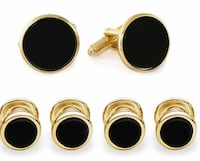 Tuxedo Cuff links and studs Centreville