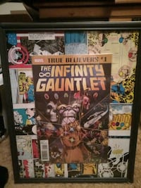 The Infinity Gauntlet comic book picture