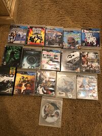 Assorted sony ps3 game cases Merced, 95348