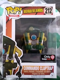 Commando claptrap funko pop gamestop exclusive Palmyra, 17078