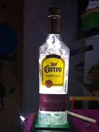 Custom made Lighted bottles