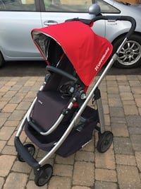 baby's red and black stroller Whitchurch-Stouffville, L4A 0E8