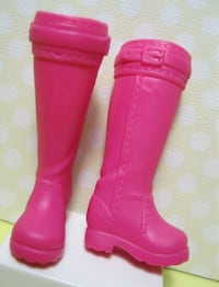 Barbie Sister Stacie Pink Equestrian Boots