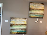 Beautiful Abstract art pieces $50 each  Upper Marlboro, 20772