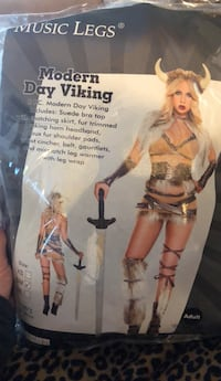 Modern Day Viking Costume Mc Lean, 22102