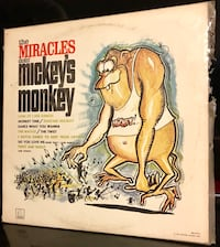 The Miracles LP Record 1963 Clovis, 93612