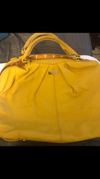 Kate Spade Yellow leather handbag Laurel, 20707