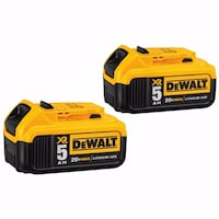 Brand New DeWalt 5.0 20V Battery Pack of 2
