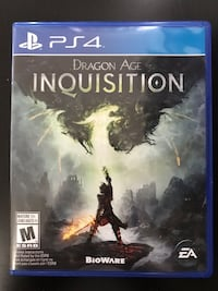 Dragon Age Inquisition PS4 Mississauga, L5V 1W7